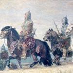 Chrobry idzie na kijów malował M.Bylina