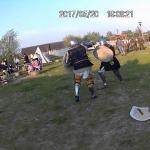 Embedded thumbnail for Pokaz walk rycerskich na Nocy Muzeów w Faktorii w Pruszczu Gdańskim 2017