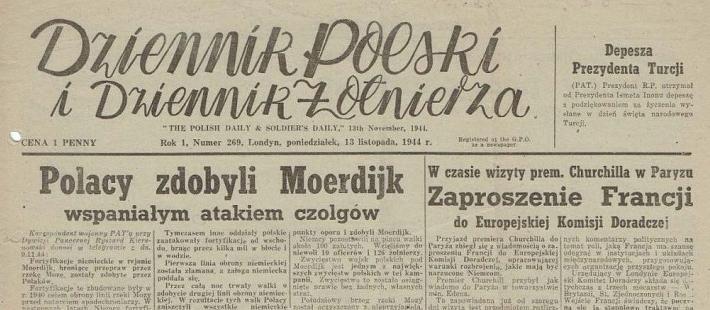 Dziennik Żołnierza, Polska Walcząca, gazety, II Wojna Światowa, BG PAN, www.polnocna.tv, www.strefahistorii.pl
