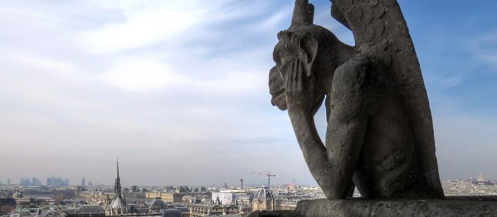 Strzyga, Strzygoń, Notre Dame, demonolgoia, Instytut Kultury Miejskiej, www.polnocna.tv, www.strefahistorii.pl. północna,tv, strefahistorii.p