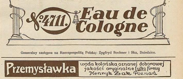 przemysławka, 4711 Echt Kolnisch Wasser, bartosz gondek, strefahistorii.pl, polnocna.tv