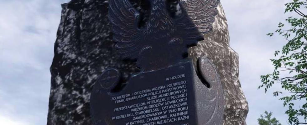 Embedded thumbnail for Pomnik ofiar katyńskich zostanie odsłonięty w Pruszczu Gdańskim